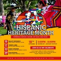 Hispanic Heritage Month Festive Post
