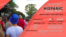 Hispanic Heritage Month Invitation Video