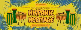 Hispanic Heritage Month Music Event Banner