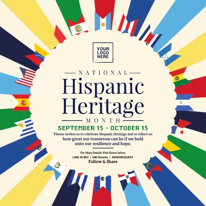 Hispanic Heritage Month Post Template