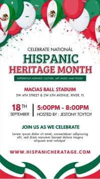 Hispanic Heritage Month Story Instagram-verhaal template