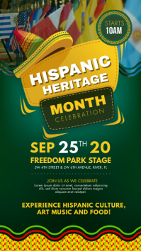 Hispanic Heritage Month Story Template