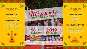 Hispanic Heritage Music Event Video Invite