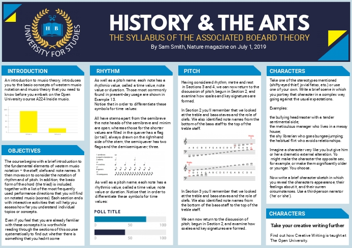 History and Art Academic Scientific Paper Tem A4 template