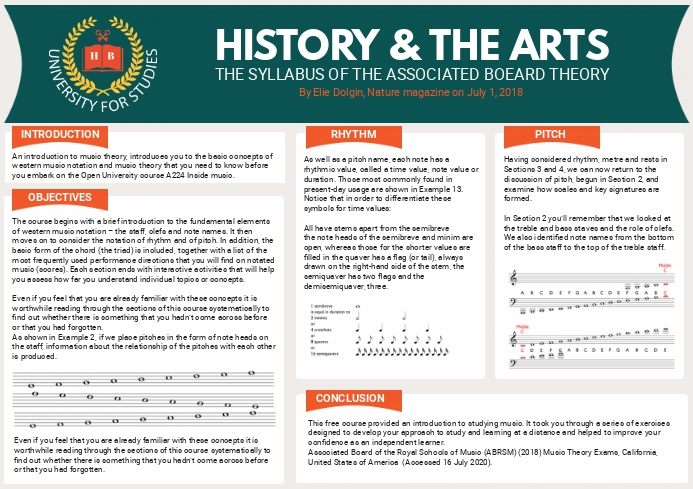 History and Art Scientific Paper A4 template