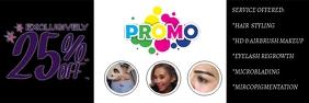 HMUA Promo Banner Twitter 标题 template