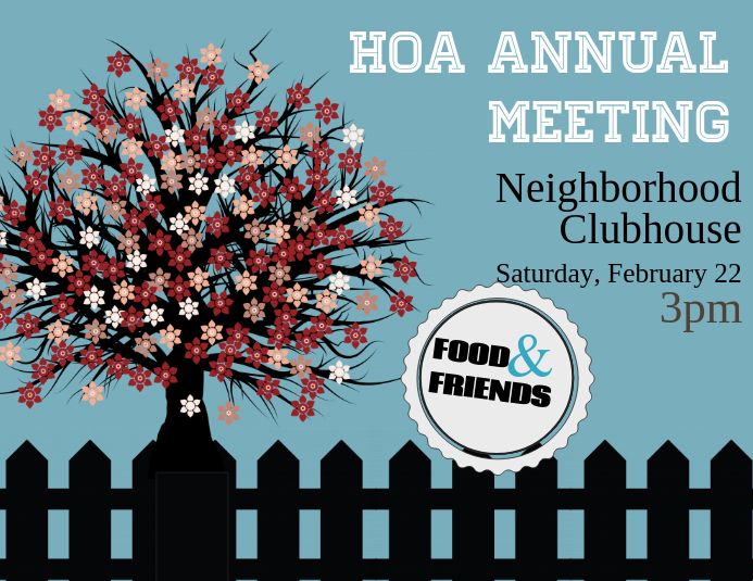 HOA Neighborhood Meeting