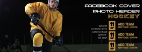 Hockey Facebook Cover Photo Header template