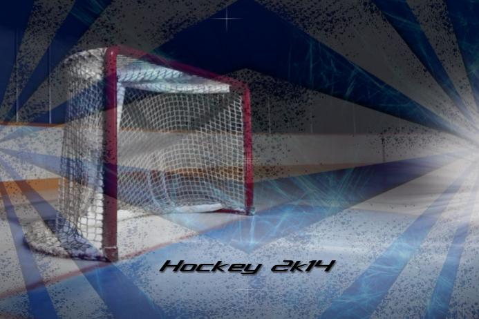HockeyBGR Poster template