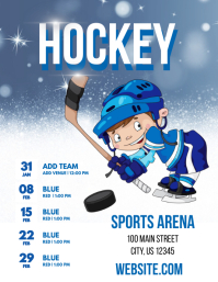 Customizable Design Templates For Hockey Flyer Template