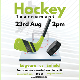 Hockey Tournament instagram