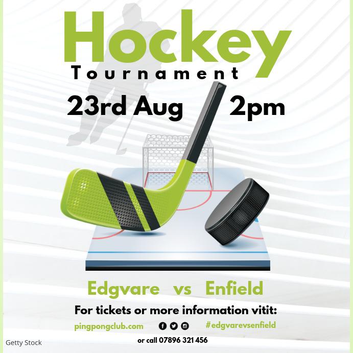 Hockey Tournament instagram