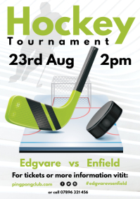 Hockey Tournament Poster