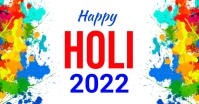 Holi, Party, Festival Facebook Shared Image template