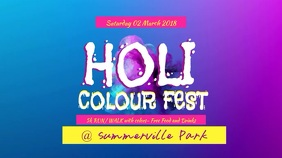 Holi Color Fest Video Template