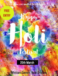 HOLI EVENT TEMPLATE
