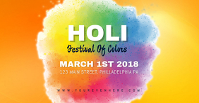 HOLI Facebook Shared Image template