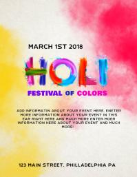 Holi poster templates postermywall similar design templates stopboris Image collections