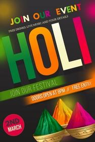 Holi flyers