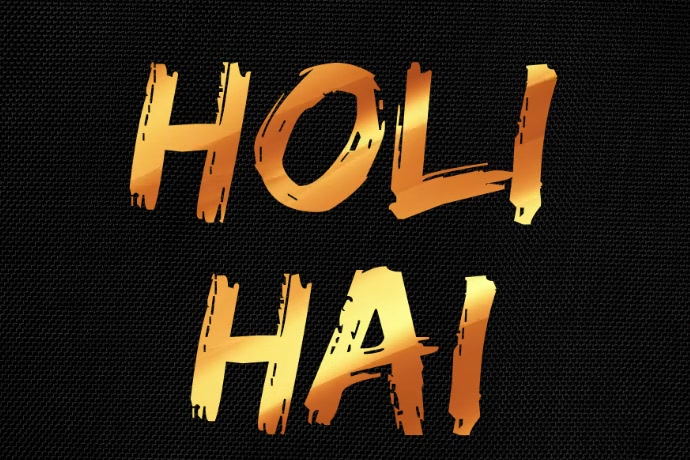 Holi Hai Premium Video Template