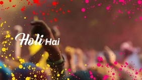 Holi Hai Premium Video Templates