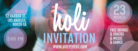 Holi invitation