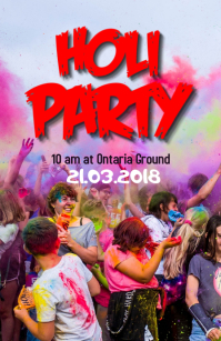 Holi Party flyer