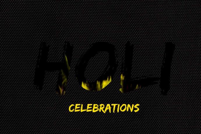 Holi Premium Video Template