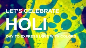 Holi Premium Video Template