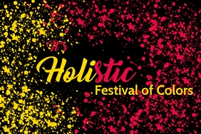 Holi-stic Premium Poster Templates