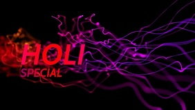 Holi Video Premium Poster Templates