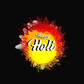 Holi video template