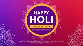 Holi Wish and Invitation Video