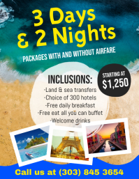 Holiday & Travel Flyer