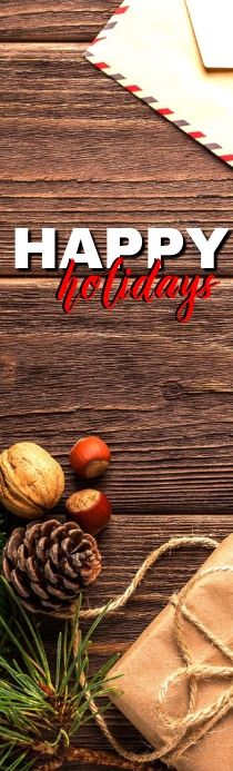 Holiday Bookmark