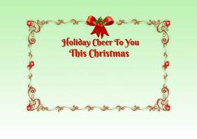 Holiday Cheer Post Card