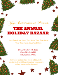 Holiday / Christmas Market / Bazaar Flyer