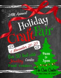 Holiday Craft Fair Flyer