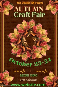 Holiday Craft Fair Poster Template
