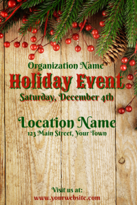 Holiday Event Template