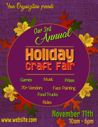 Holiday Fair Poster Template