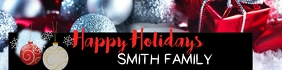 Holiday Family Banner