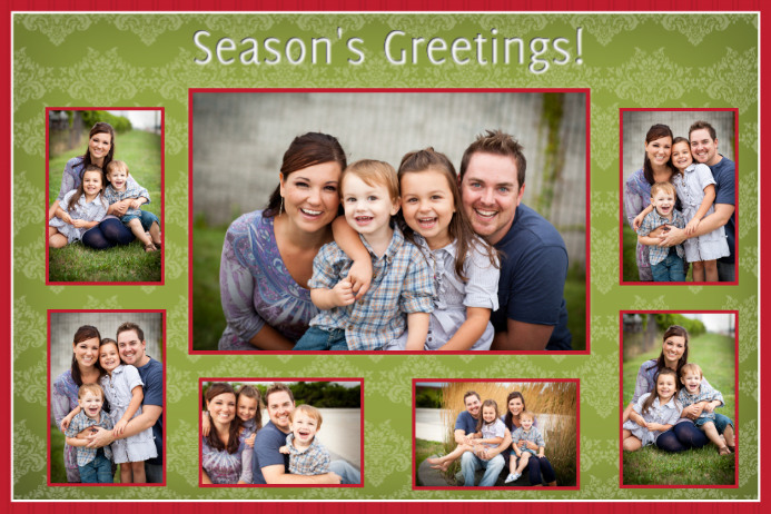 Holiday Family Collage