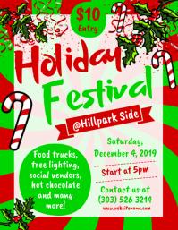 Holiday Festival Flyer