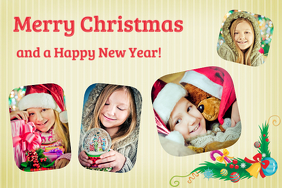 Holiday Greeting Photo Collage