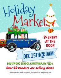 Holiday Market Flyer