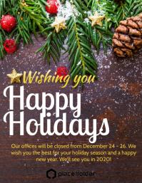 Holiday Office Closure