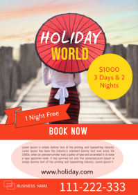 Holiday Package Template A4