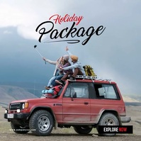 Holiday Package Video 专辑封面 template