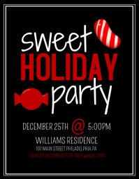 Customizable Design Templates for Christmas Party Flyer | PosterMyWall